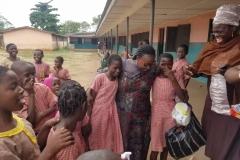 School Visit & Donation